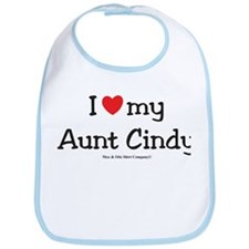 I heart Aunt Cindy Bib
