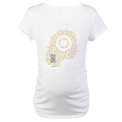 Believe in Crop Circles Maternity T-Shirt