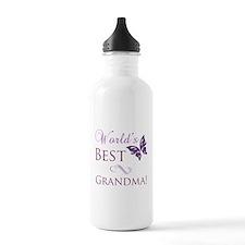 World's Best Grandma Sports Water Bottle