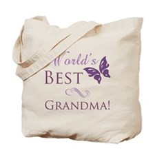 World's Best Grandma Tote Bag