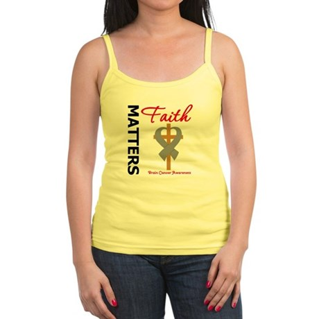 Brain Cancer FaithMatters Jr. Spaghetti Tank