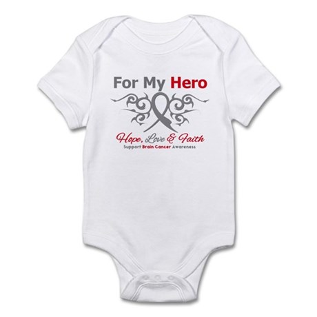Brain Cancer ForMyHero Infant Bodysuit
