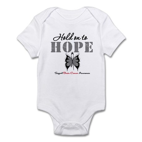 Brain Cancer HoldOnToHope Infant Bodysuit