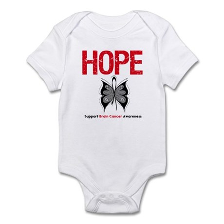 Brain Cancer HopeSlogan Infant Bodysuit
