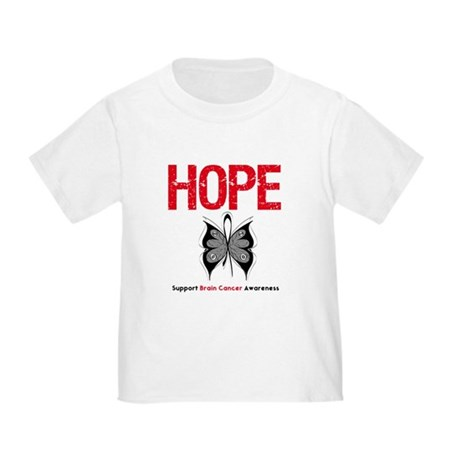 Brain Cancer HopeSlogan Toddler T-Shirt
