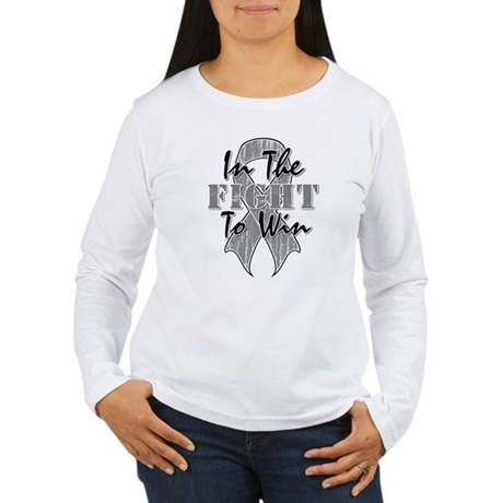 Brain Cancer InTheFight Women's Long Sleeve T-Shir