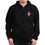 Crowley Star Zip Hoodie (dark)
