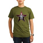 Crowley Star Organic Men's T-Shirt (dark)
