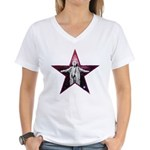 Crowley Star Women's V-Neck T-Shirt