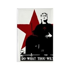 Crowley-Do What Thou Wilt Rectangle Magnet (100 pa