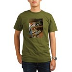 A Carpenter's Tools (2) Organic Men's T-Shirt (dar