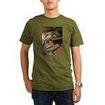 A Carpenter's Tools (2) Organic Men's T-Shirt (dar
