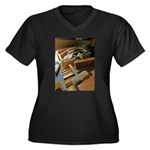 A Carpenter's Tools (2) Women's Plus Size V-Neck D