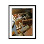 A Carpenter's Tools (2) Framed Panel Print
