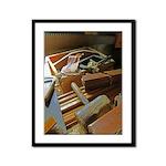 A Carpenter's Tools (2) Framed Panel Print