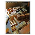 A Carpenter's Tools (2) Small Poster