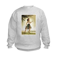 Hawaiian Dancer Sweatshirt