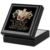 As You Like It Quote Keepsake Box