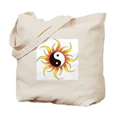 Tribal Yin-Yang Tote Bag