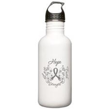 Brain Cancer ButterflyDeco Sports Water Bottle