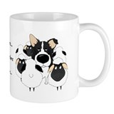 Border Collie - I Herd Small Mug