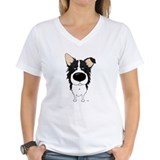Big Nose/Butt Border Collie Shirt
