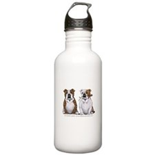 Bulldog Romance Water Bottle