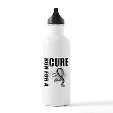 Brain Cancer RunForACure Water Bottle