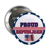 "Proud Republican 2.25"" Button"