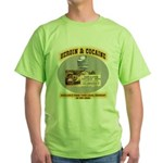 Cocaine & Heroin Green T-Shirt