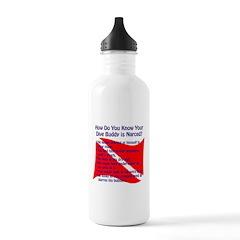 Scuba Buddy Narced? Water Bottle