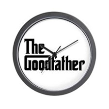 The Goodfather Wall Clock