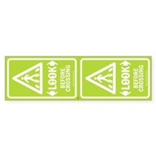 Look Pedestrian Safety Stickers - 2 Units