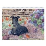 A Slim Dog Year Wall Calendar