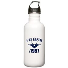 Varsity F-22 1997 Sports Water Bottle