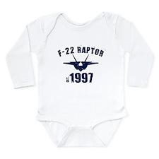 Varsity F-22 1997 Long Sleeve Infant Bodysuit