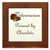 Veterinarian Framed Tile