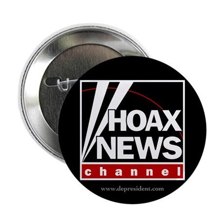 "Hoax News 2.25"" Button (100 pack)"