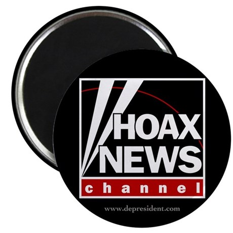 "Hoax News 2.25"" Magnet (100 pack)"