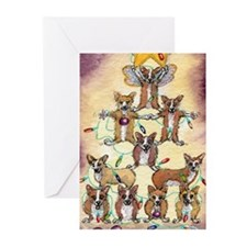 Cute Corgi christmas Greeting Cards (Pk of 10)