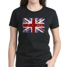 British Flag Punk Grunge Tee