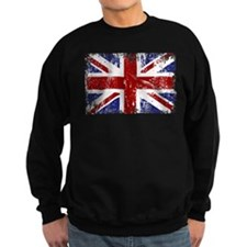 British Flag Punk Grunge Sweatshirt