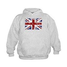 British Flag Punk Grunge Hoodie