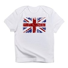 British Flag Punk Grunge Infant T-Shirt