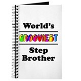 World's Grooviest Step Brother Journal