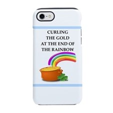 Curling Logo iPhone Case
