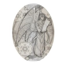 Archangel Metatron Ornament (Oval)
