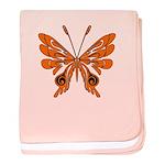 Butterfly Tattoo baby blanket