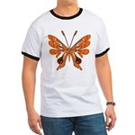 Butterfly Tattoo Ringer T