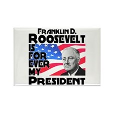FDR 4ever Rectangle Magnet (10 pack)